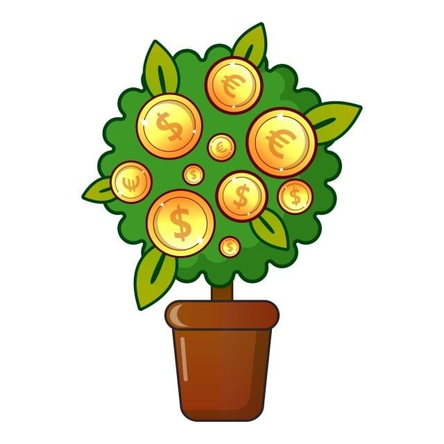 Money Tree Icon Flat Style Money Icons Tree Icons Style Icons Png And Vector With Transparent Background For Free Download Tree Icon Money Trees Money Logo