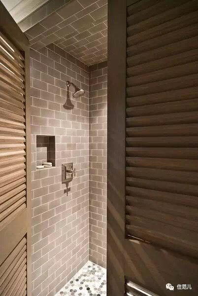 teak louvered door make louvered shutters for inside the bath option to not do glass doors