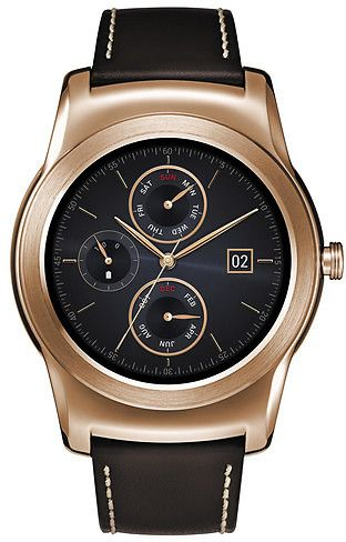 LG Watch Urbane Smart Watch (Android And Ios Compatible) - Gold