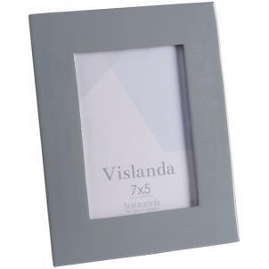 Vislanda 7x5 inlaid aluminium frame - Grey
