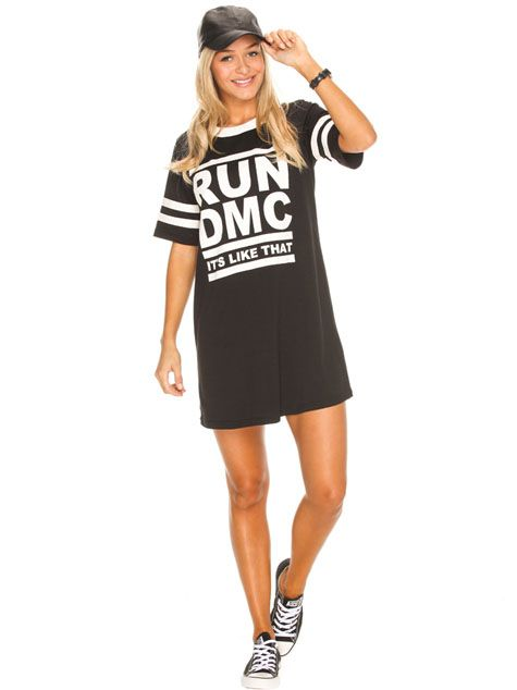 Get trending with the Loving Things Run DMC Dress from City Beach Australia