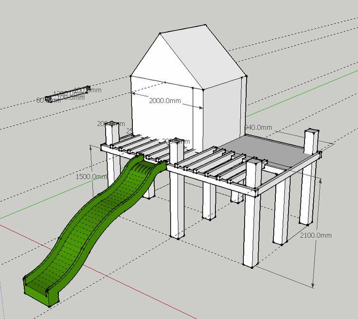plan de montage cabane en bois - Recherche Google | Cabane bois, Cabane, Cabane perchée
