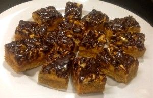 nut caramel chocolate slice recipe. I have made similar recipes to this in the past, however this is by far the most tastiest caramel slice, the nuts actually bring in a great neutralizer to the sweetness of the caramel.