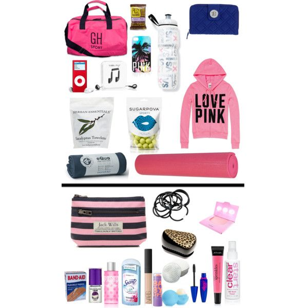 """""""What's in my Gym bag?"""" by you-cant-sit-with-usxox on Polyvore"""