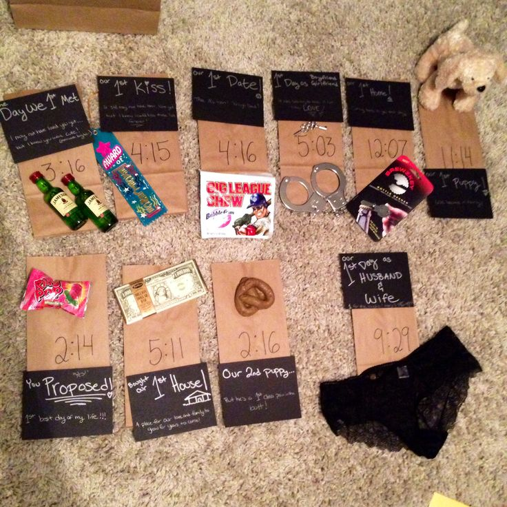 creative dating anniversary gifts for men