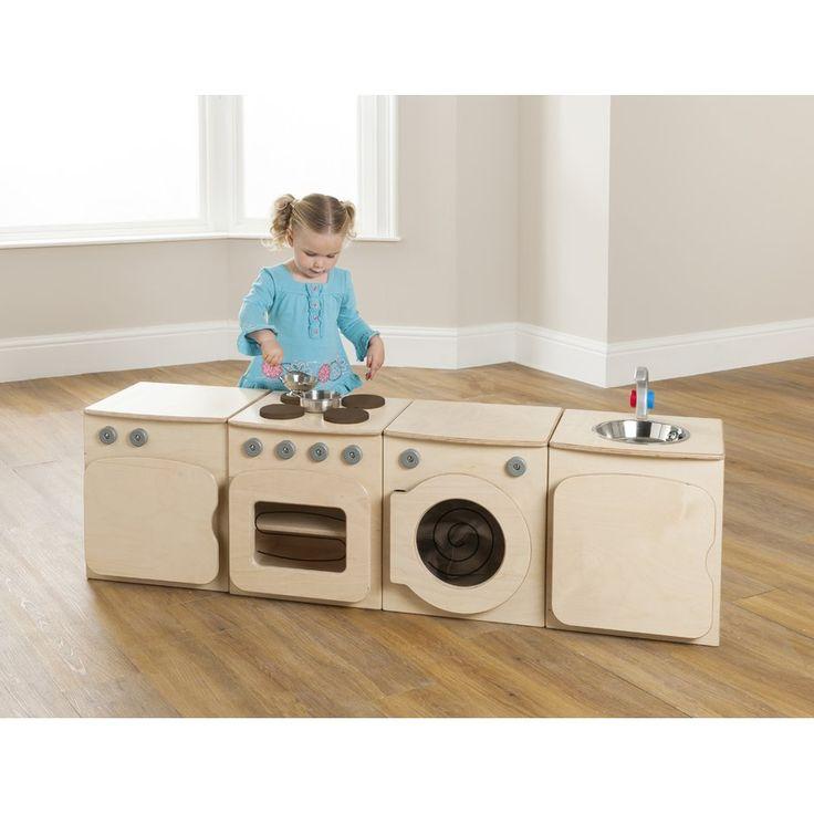 4 Piece Toddler Kitchen Set