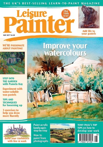 May 2017 Leisure Painter. Buy online, http://www.painters-online.co.uk/