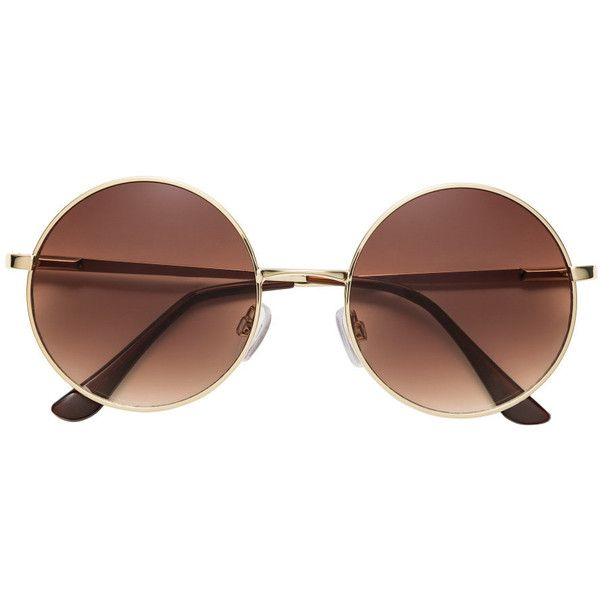 Round Sunglasses $9.99 ($9.99) ❤ liked on Polyvore featuring accessories, eyewear, sunglasses, tinted glasses, lens glasses, round frame sunglasses, tinted lenses glasses and uv protection glasses