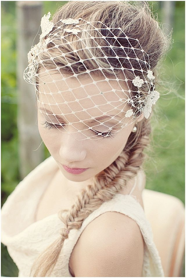 Vintage wedding veil/headpieces   Collection: Vintage Inspired Bridal Headpieces