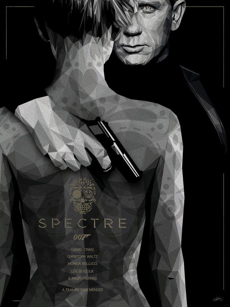 Spectre - movie poster - Simon Delart