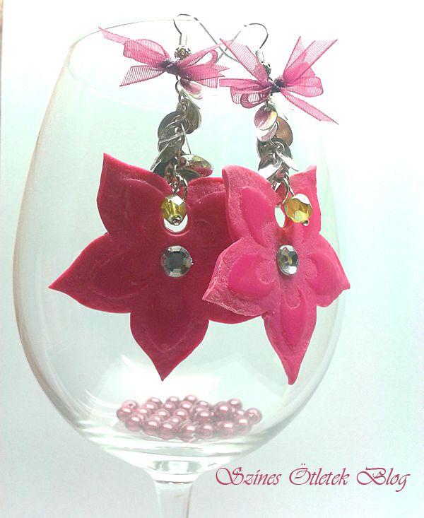 Lovely earrings DIY