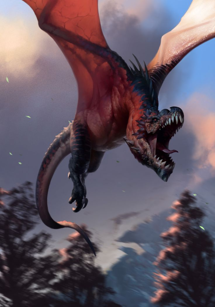 Wyvern by Alejandro-Mirabal.deviantart.com on @DeviantArt