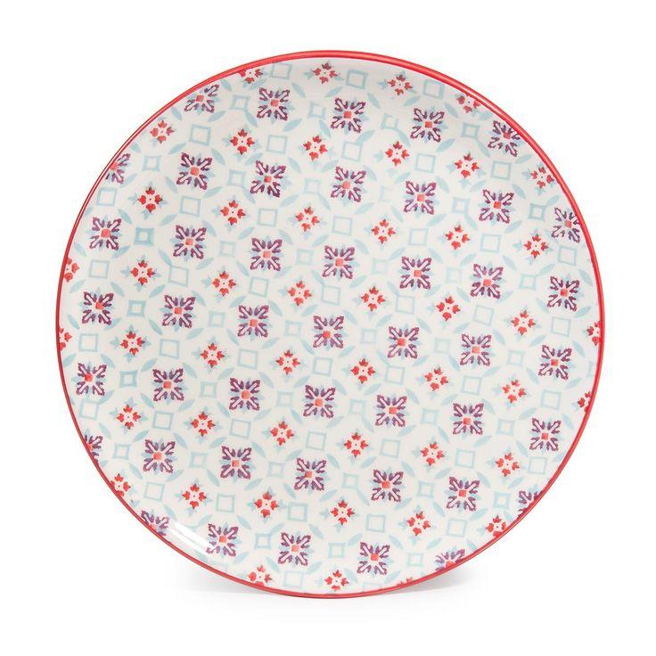 Dessertteller aus Porzellan,  D 21 cm COCOTTE   - Im 6er-Set angeboten