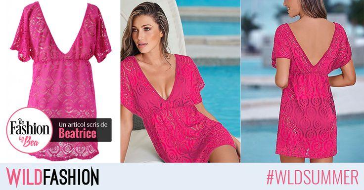 Culorile aprinse și dantela sunt trendurile verii. Încearcă-le într-o tunică de plajă adorabilă. Like dacă îți place sau Share unei prietene căreia i se potrivește!