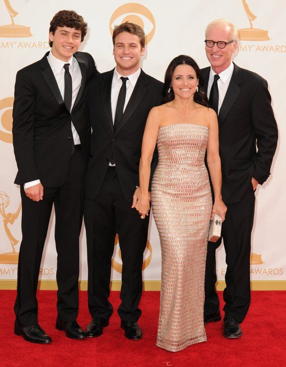 """Julia Louis-Dreyfus and sons  What a night it was for """"Veep"""" star Julia…"""