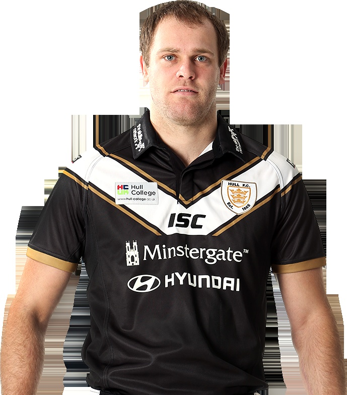 Richard Whiting modeling the NEW Hull FC 2013 home shirt.