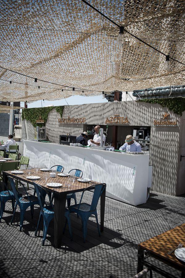 Cuarto Interior convierte la azotea del Círculo de Bellas Artes en la terraza de moda en Madrid. | diariodesign.com
