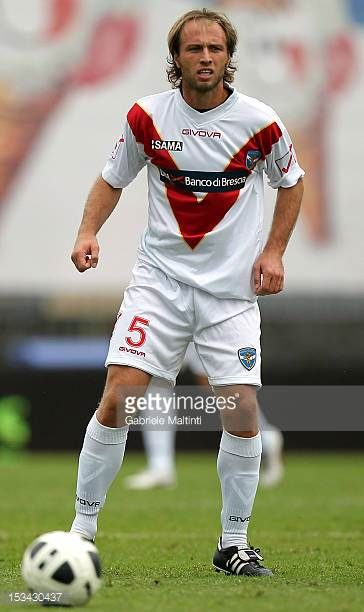 Alessandro Budel of Brescia Calcio in action during the Serie B match between Empoli FC and Brescia Calcio at Stadio Carlo Castellani on September 29...