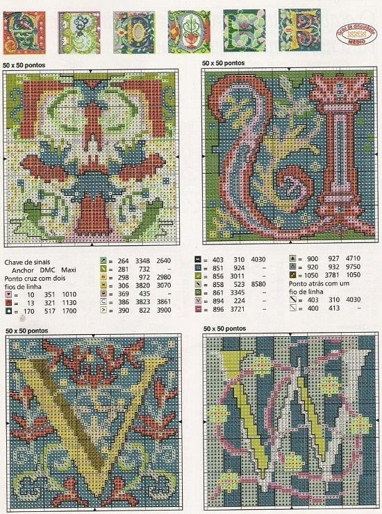 Celtic Alphabet - (2) Gallery.ru / Foto # 2 - Piani 4 - muha-cc 1. Celtic Alphabet T U V W