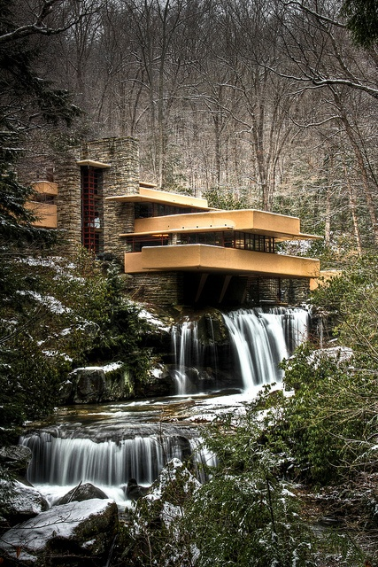 Waterfall House by Frank Lloyd Wright