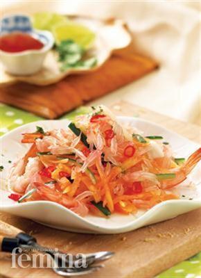 Femina.co.id: Salad Jeruk Bali #resep #menudiet