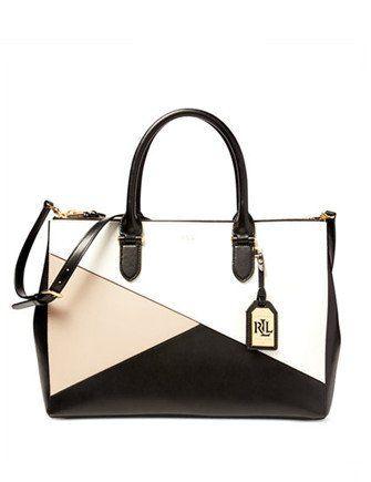 Ralph Lauren Soft White Leather Fringe Shoulder Handbag Nwt axuSK6