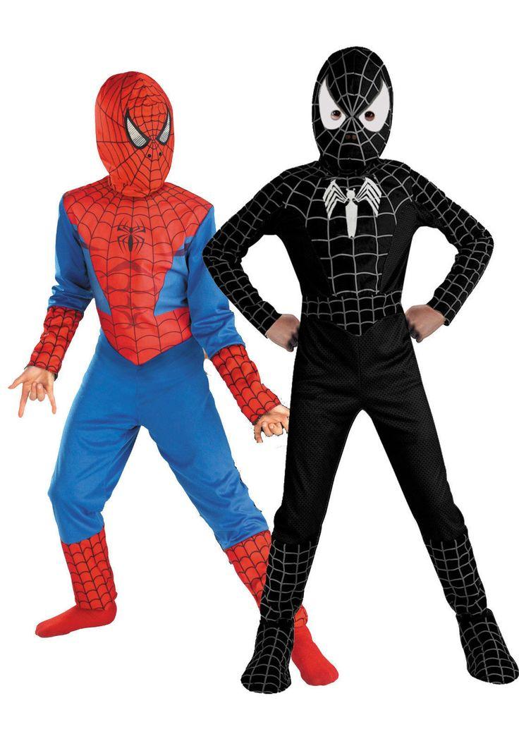 Childrens fancy #dress costume spiderman black #venom kids boys #halloween,  View more on the LINK: http://www.zeppy.io/product/gb/2/262688890235/