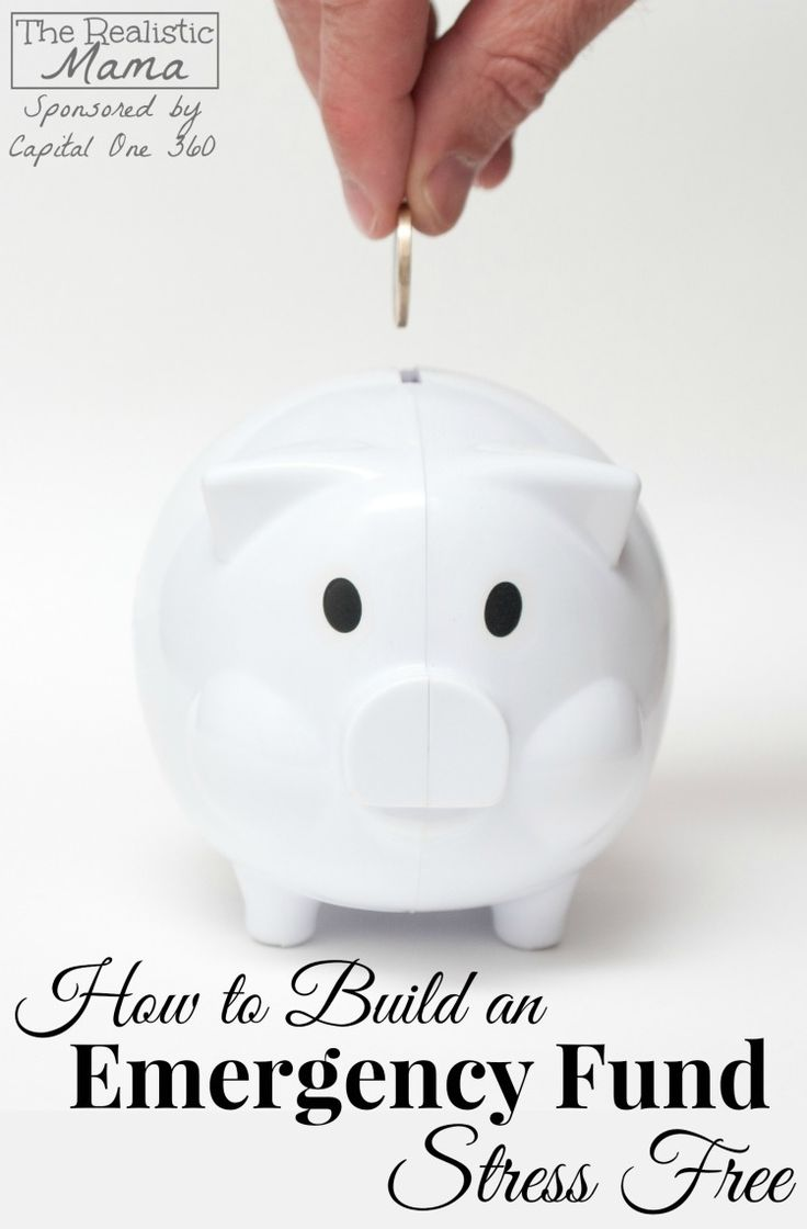 How to Build an Emergency Fund - and remove stress from your life.