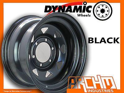ONE BLACK 4X4 DYNAMIC SUNRAYSIA WHEELS WHEELS 16X8 6/139.7 4WD RIM PATROL HILUX