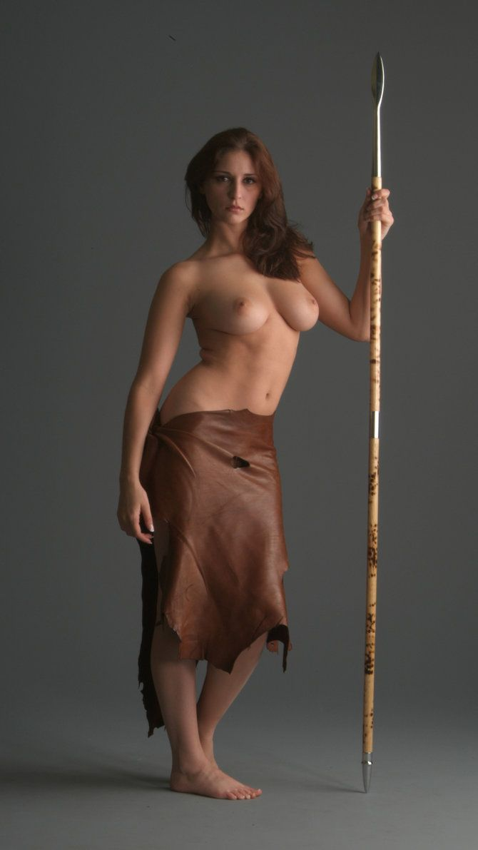 from Terrell nude warrior girl with spear
