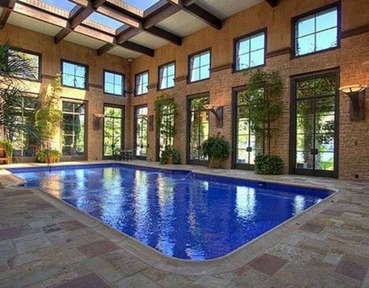 Amazing Small Indoor Pool Design Ideas 59