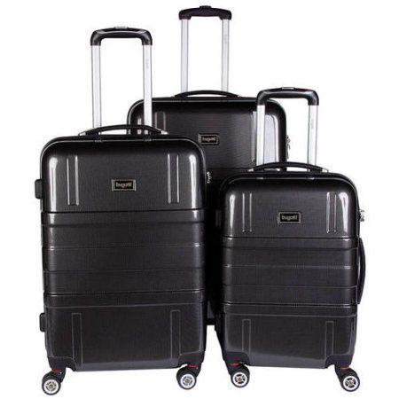 Hard Case Luggage Set Black, Multicolor