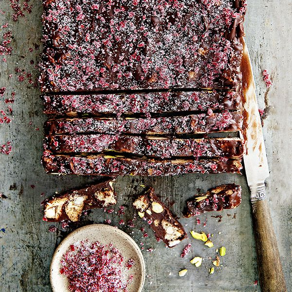 Een arretjescake zonder chocolade is geen arretjescake, daarom hier het complete recept, inclusief de chocolade.
