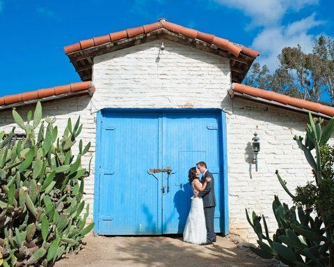 Blue Barn Door