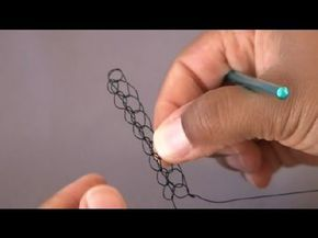 Video: How to crochet with wire. #Wire #Jewelry #Tutorials