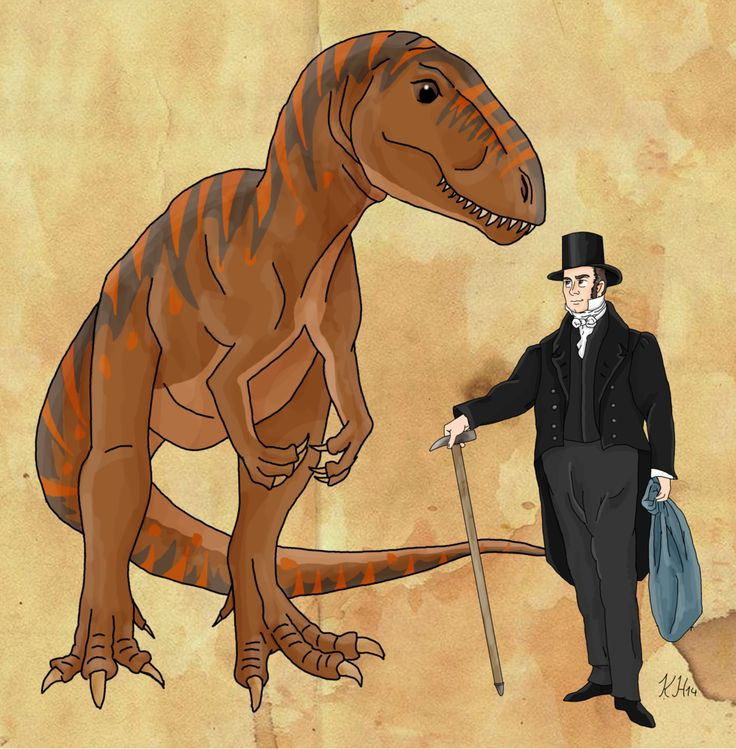 William Buckland and his Megalosaurus by Pelycosaur24