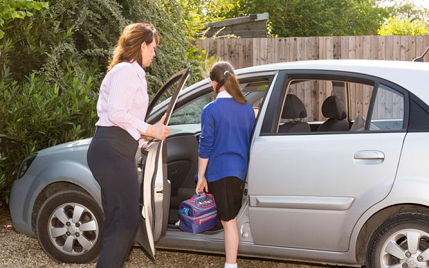 #DidYouKnow One in five drivers who need sight correction have driven children to school without their contacts or specs #DriveSafe