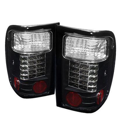 2001-2005 Ford Ranger LED Tail Lights - Black