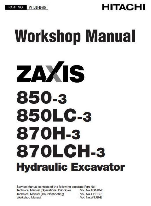 Hitachi Hydraulic Excavator Zaxis 850