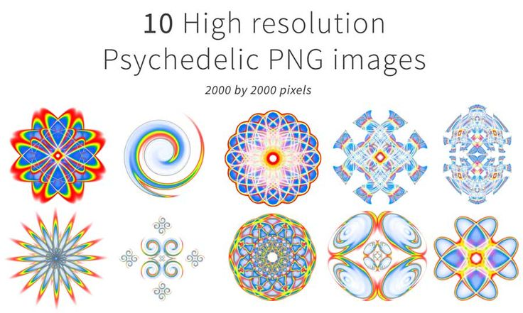 I have made a pack of 10 psychedelic png images, these are ready to use in your artworks to give it that extra kick!   They can be downloaded from my store for just £0.99 here: http://www.digitalvisionaryart.co.uk/brushstore/   #art #psychedelic #chakra #mandala #digitalart
