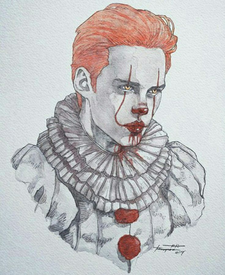SAD PENNYWISE ! NOT COOL AT ALL .