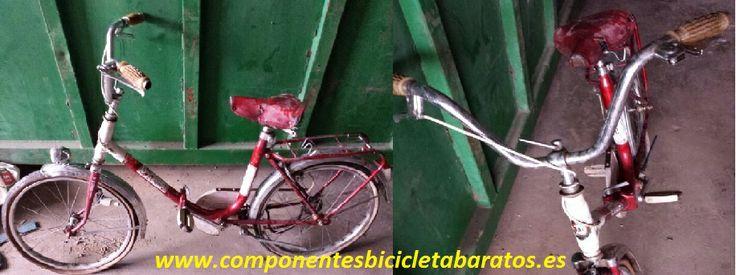 Después de la Semana Santa 2014 toca trabajar esta Mobylette. Propiedad de Componentes Bicicleta baratos en Zaragoza.