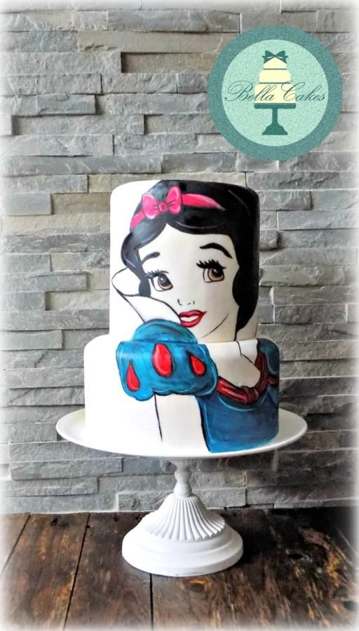 snow white by Bella Cakes