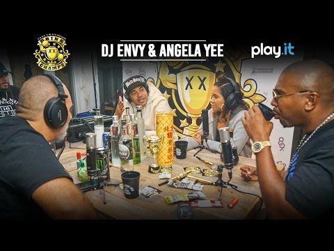 DJ Envy & Angela Yee (Full) - Drink Champs N.O.R.E. and DJ EFN are the Drink Champs. In this episode the guys drink it up with DJ Envy and Angela Yee of the Breakfast Club. In the midst of several shots of Tiger Bone they talk about how the Breakfast Club came to be, the origins of N.O.R.E. and Envy's 30k beef, Angela Yee's drinking stamina and a lot more.