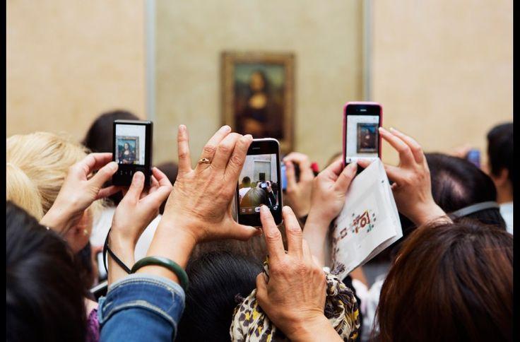 Paris. Le Louvre. 2012. © Martin Parr / Magnum Photos / Galerie kamel mennour