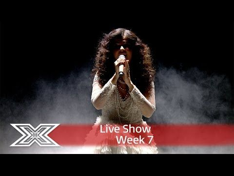 Saara Aalto gets pulses racing with My Heart Will go on | Live Shows Week 7 | The X Factor UK 2016 - YouTube