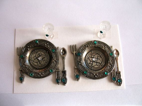 Jeweled Fairy Miniature Medieval Dinnerware. Promo Free item our choice when you purchase any two items from our shop & 130 best Mini Dishes \u0026 Silverware images on Pinterest | Dollhouse ...