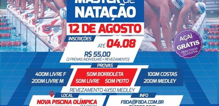 Federação Baiana de Natação comemora aniversário com evento de natação master – FrancisSwim