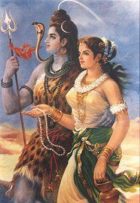 Shiva with Parvati