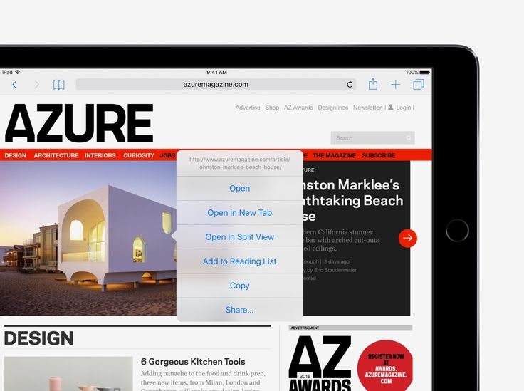 Open webpages side by side - iOS 10 Tips and Tricks for iPad - Apple Support